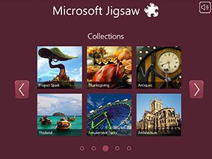 Microsoft Jigsaw Screenshot 1