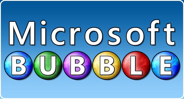 Microsoft Bubble Logo