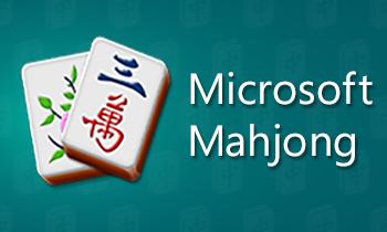 Microsoft Mahjong Logo