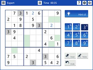 Microsoft Sudoku Screenshot 0