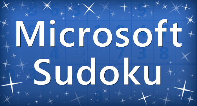 Microsoft Sudoku Logo